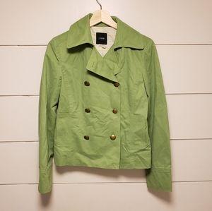 J Crew green jacket small